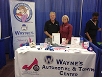 Jeff and Sherry Corbett Wayne's Automotive